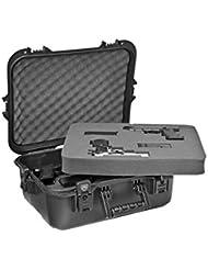Plano AW Series X - Maletín para pistola y accesorios (con asas negras)