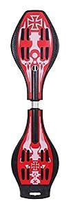 SMJ sport Kinder WAVEBOARD CR3409 red Skateboards, rot, 34 x 9 Zoll