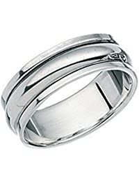 Thumb Spinner Ring Rotating Motion Worry Band sterling silver Finger