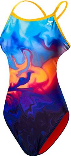 TYR Women's Fumoso Crosscutfit Tieback Swimsuit