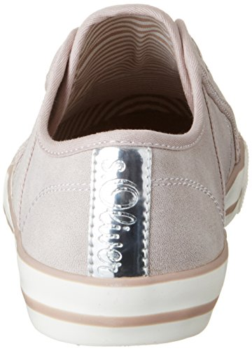 s.Oliver 24626, Sneakers Basses Femme Rose (OLD ROSE 512)