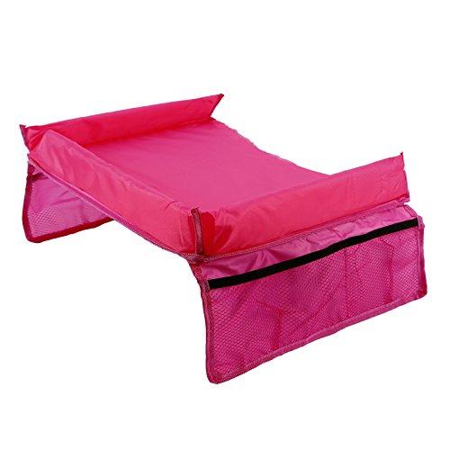 Preisvergleich Produktbild Auto Kinder wasserabweisend Spieltische Reise Esstische fuer Autositze rosa