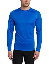 Sugoi titane 60006U t-shirt de course à manches longues longsleeves top t-shirt de course bleu