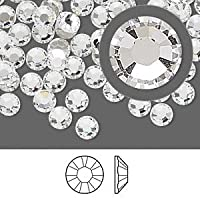 Genuine SWAROVSKI CRYSTALS FOILED FLAT-BACK 2058 RHINESTONE GEM - Crystal Clear 2.8mm (SS10) 70 Crystals in Pack