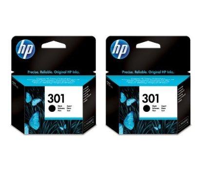 HP301 Original Deskjet Drucker Patrone im Doppelpack 1000 1050A 1055 2050A (Hp Drucker 1000 Deskjet)