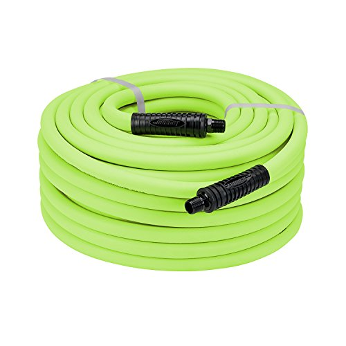 LEGACY  FLEXZILLA 3/8 BY 50 ZILLA GREEN AIR HOSE WITH 1/4 ENDS