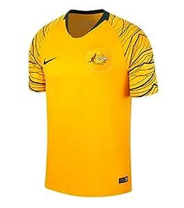 Nike 2018-2019 Australia Home Football Shirt