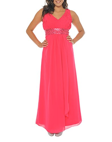 Astrapahl Damen Kleid br09111ap, Rosa (pink), 36