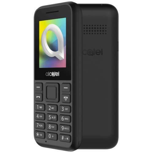 Alcatel 1066D - Telefono móvil de fácil uso, Pantalla de 1.8 - QQVGA, 2G, cámara trasera CIF, 4MB de RAM, 4MB de ROM, batería 400mAh