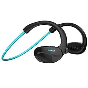 aukey wireless headphones bluetooth sport in ear electronics. Black Bedroom Furniture Sets. Home Design Ideas