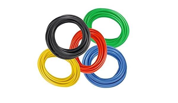 1,00mm² Sortiment Messleitungen LifYY je 5m Litzen höchstflexibel 5 Farben