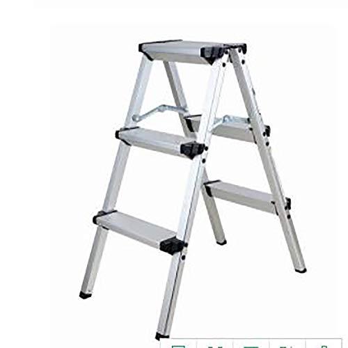 XuQinQin Step Stool - Escalera Plegable Aluminio Gruesa