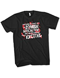 The Hardest Part of The Zombie Apocalypse Mens Premium T-Shirt Choice of Sizes Small to 3XL