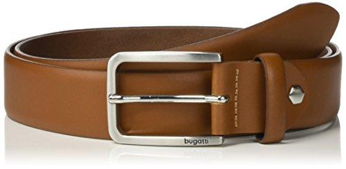 Bugatti Herren Gürtel 37600 R - 0556, Gr. 110 cm, Braun (Cognac 11) Preisvergleich