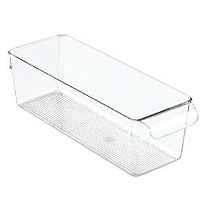 interdesign linus bac alimentaire petit organisateur de cuisine en plastique avec poign es. Black Bedroom Furniture Sets. Home Design Ideas
