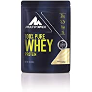 Multipower 450 g French Vanilla 100 Percent Pure Whey Protein Powder by Multipower