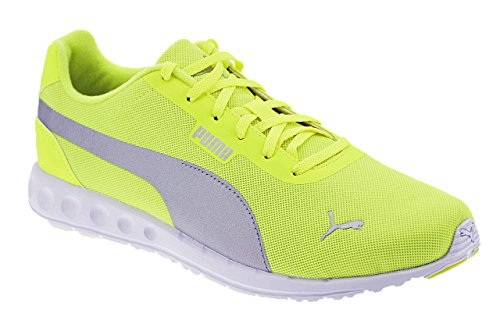 Puma, uomo, fallon, tessuto tecnico, sneakers, giallo, 46 eu