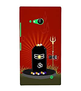 Lingaraja 3D Hard Polycarbonate Designer Back Case Cover for Nokia Lumia 730 :: Microsoft Lumia 730 :: Microsoft Lumia 735