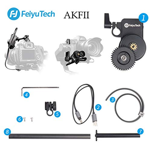 Feiyu AKFII Brushless Motor Follow Focus Kit für AK2000 AK4000 AK Serie DSLR Stabilisator Gimbal Einfache Installation für AK2000 Focus Control Kit