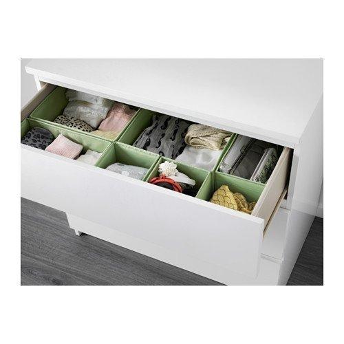 41tMKF37oJL - BEST BUY #1 2 X Ikea Skubb Storage Box Set of 6, Drawer Organizers, Light Green, Multi-use Reviews and price compare uk