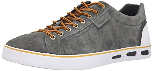Columbia Vulc N Vent Camp 4, Baskets Basses Homme Gris (grill/white 028)