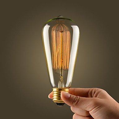 led bulbs, e27 / e26 Glühbirne retro Jahrgang industrielle Glühbirne 36-40w long life ( Spannung : 110-120V ) -