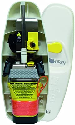 GME MT403FF - Radiobaliza de emergencia RLS para barcos, color Yellow / Orange / White