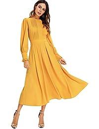 sale retailer 61520 ca47f Suchergebnis auf Amazon.de für: langarm kleid - Damen ...