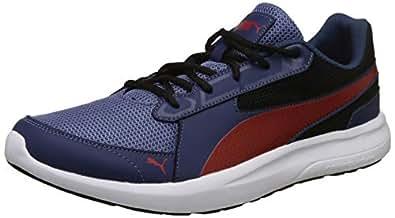 Puma Men's Sargasso Sea-Infinity Black Sneakers-6 UK/India (39 EU) (4060978031273)