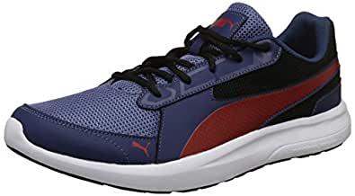 Puma Men's Sargasso Sea-Infinity Black Sneakers-6 UK/India (39 EU) (4060978031273)