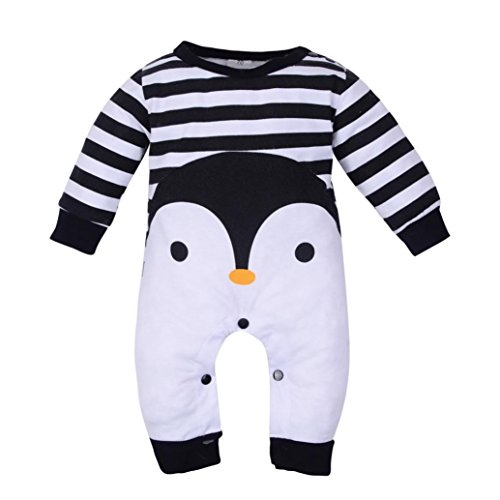 Lenfesh Baby M/ädchen /& Jungen Lange /Ärmel Flauschige Jumpsuit Outfit Kleidung Overall Cartoon Jumpsuit Winter Babykleidung mit Kapuze
