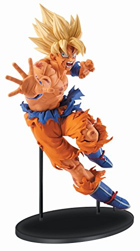 Banpresto Dragon Ball Z 8.7-Inch Goku Figure, SCulture Big Budoukai 5 Volume 1 by Banpresto