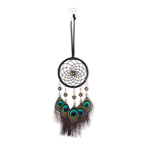 akaddy Pfauenfedern handgefertigt Dreamcatcher Craft Dream Catcher Net Home Decor (Home Decor Dream Catcher)