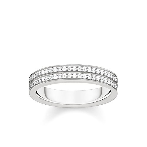 Gold Verheiratet Männer Ringe Für (THOMAS SABO Damen Ring 925er Sterlingsilber TR2119-051-14)