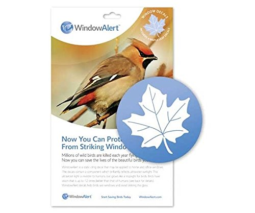 Fenster Alert Maple Leaf Aufkleber -