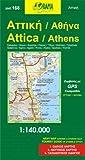 Attica 1 : 140 000 / Athens 1 : 7 500 - collective