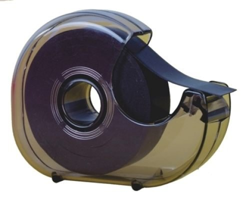 TimeTex Magnet-Streifen-Abroller - selbstklebend - 19 mm x 8 m - Magnetband im praktischen Spender - Magnetklebeband - 93287 - Magnetplättchen