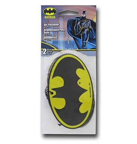 SuperHeroStuff - Deodorante per Auto, Motivo: Batman, Confezione da 2