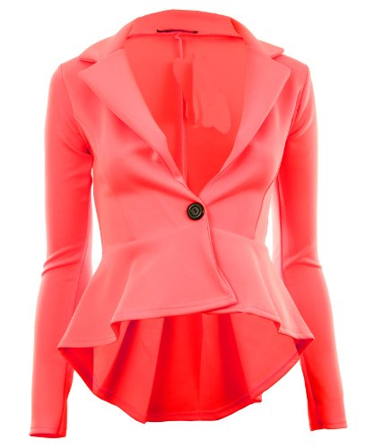 Gracious Girl - Veste de tailleur -  - Blouson Femme Rose - Rose