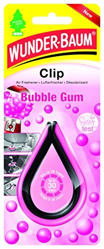 Wunder-Baum 20269 Lufterfrischer Clip Bubble Gum Pink Schwarz