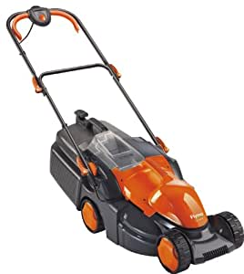 Flymo FPACAMOW Pac a Mow Electric Wheeled Rotary Lawnmower - Orange (Old Version)