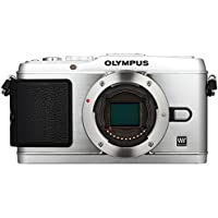 Olympus PEN E-P3 Systemkamera (12 Megapixel, 7,6 cm (3 Zoll) Display, Bildstabilisator, Full-HD Video) Gehäuse silber