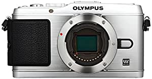 Olympus Pen E-P3 Compact System Camera (Body Only) - Silver