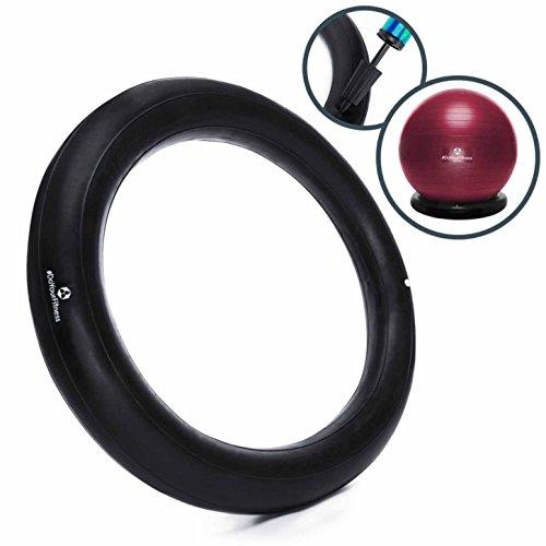 Aufblasbare Ballschale für Gymnastikbälle 55cm bis 85cm inkl. Luftpumpe