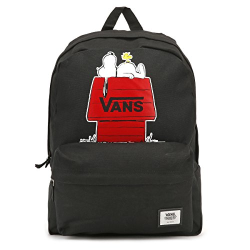 Imagen de vans peanuts realm backpack  tipo casual, 42 cm, 22 liters, negro black  alternativa