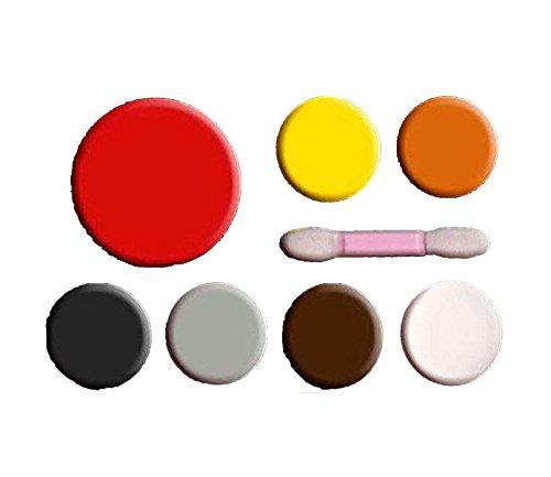 Scream machine - paletta multicolore per trucco zombie per halloween devil makeup kit taglia unica