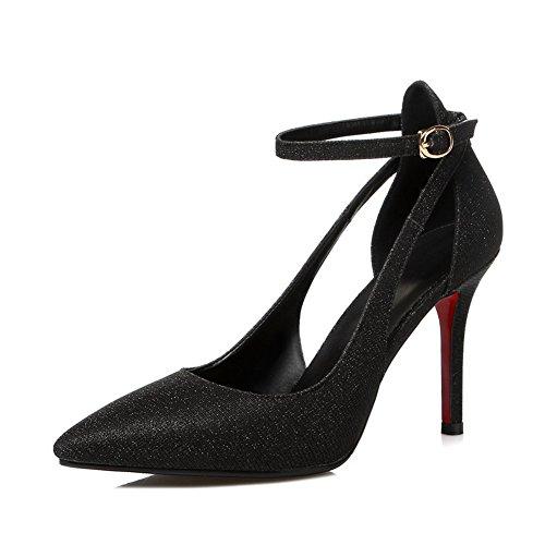 Adee Mesdames escarpin polyuréthane pumps-shoes Noir - noir