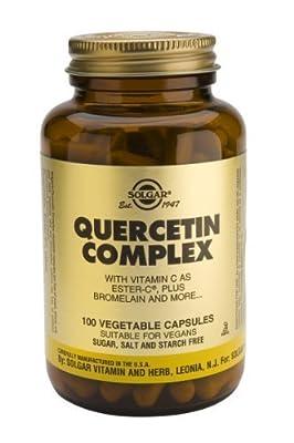 Solgar-Quercetin Complex Vegetable Capsules 100