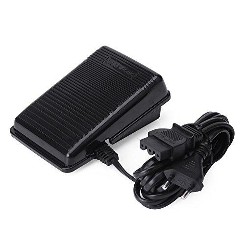 Nähmaschine Fußpedal Controller für Singer, Elektronische Fußsteuerung mit Kabel, Universal Home Nähmaschine Fußschalter Pedal Variable Speed Controller, US-und EU-Stecker - Pedale Nähmaschinen