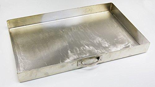 AKTIONA massiver Aschekasten (49x34cm) für einen 54 x 34 cm Grillkamin Grill Rost Kamingrill